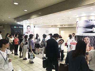ディアモール大阪当社主催イベント風景2
